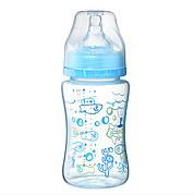 Антиколиковая бутылочка с широким горлышком 0+ BabyOno 240ml