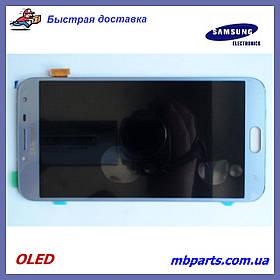 Дисплей с сенсором Samsung J400 Galaxy J4 2018 OLED Gray !
