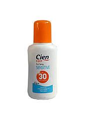 Cолнцезащитный спрей Cien Sensitive SPF30 200 мл