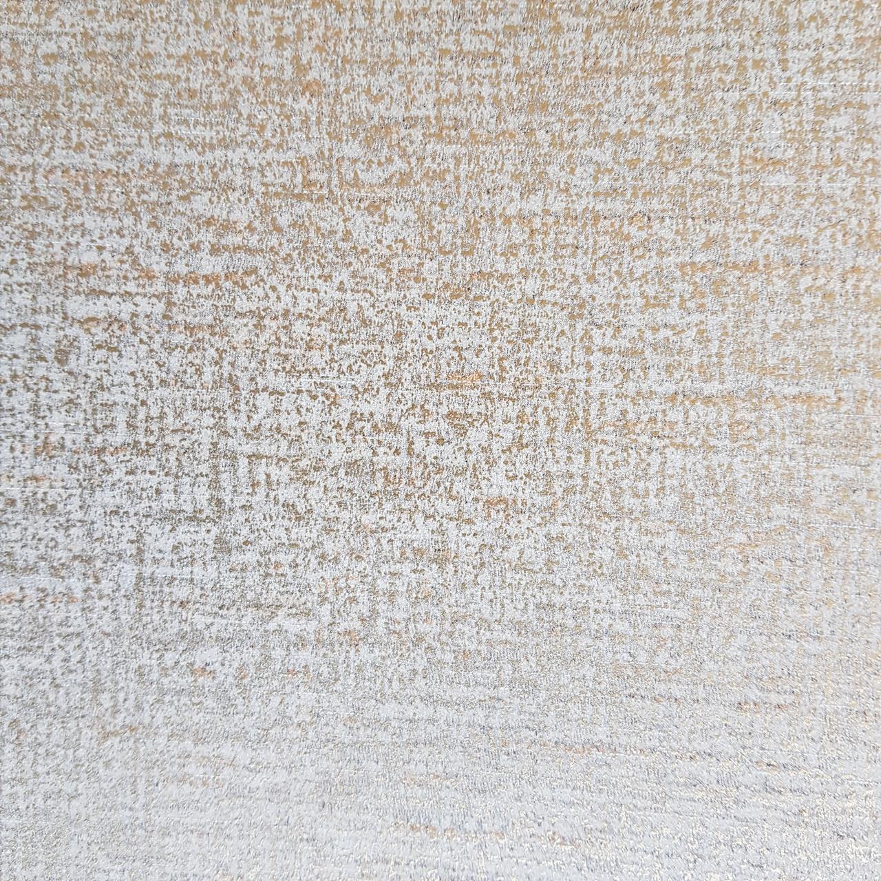 Обои флизелиновые эко Galerie Metallic FX 0,53Х10 англия полоски горизонтальные размытые золотистые серые