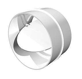 Соединитель круглых каналов Эра с обратным клапаном 100 мм (60-420)