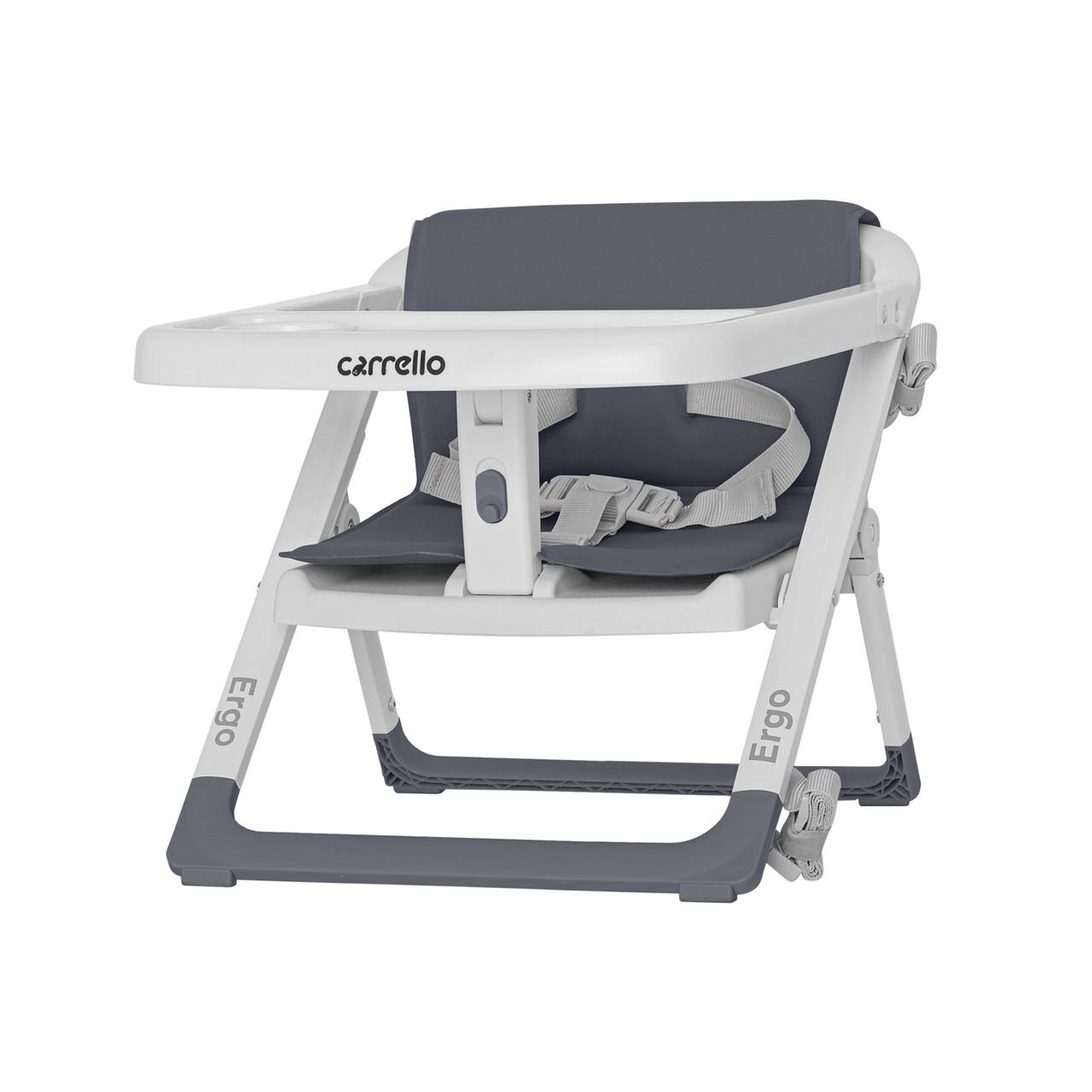 Стільчик-бустер для годування CARRELLO Ergo CRL-8403 Palette Grey