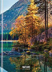 "Блокнот ""Nature of Ukraine: озеро"", А4, твердая обл., 96 л., клетка O20378-11"