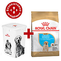 Royal Canin Labrador Retriever Puppy 12кг для цуценят породи лабрадор ретрівер + Відро