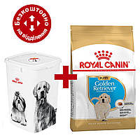 Royal Canin Golden Retriver Puppy 12 кг для цуценят голден ретривера + Відро