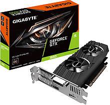 Видеокарта GTX 1650 4GB Gigabyte Low Profile 4G GDDR5 (128bit)(GV-N1650OC-4GL)