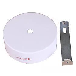 Настенное крепление белое для трекового LED светильника 20 Вт, 30 Вт