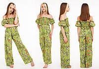 Костюм летний с штанами для девочки Летти, размеры 122-170