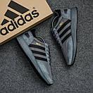 Мужские кроссовки Adidas Iniki Dark Grey, фото 4
