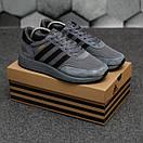 Мужские кроссовки Adidas Iniki Dark Grey, фото 7
