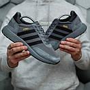Мужские кроссовки Adidas Iniki Dark Grey, фото 8