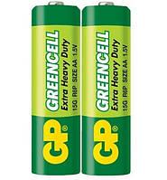 Батарейки R06 GP Greencell (2шт) (R6)