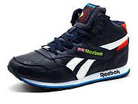 Кроссовки зимние на меху Reebok Classic Jogger мужские, фото 1