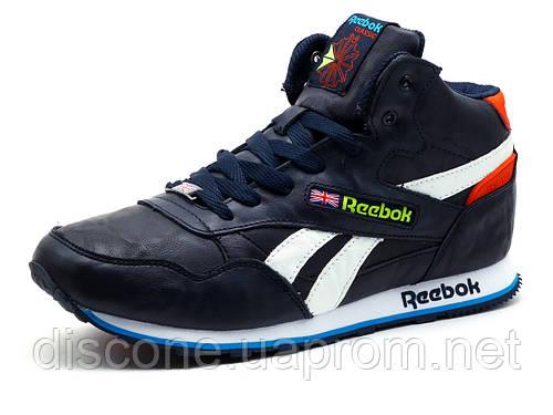 Кроссовки зимние на меху Reebok Classic Jogger мужские
