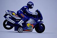 Спортивный мотоцикл инерционный