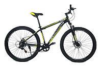 "Велосипед найнер CrossBike Blast SUSP 29"" 17"" Черный-Желтый"
