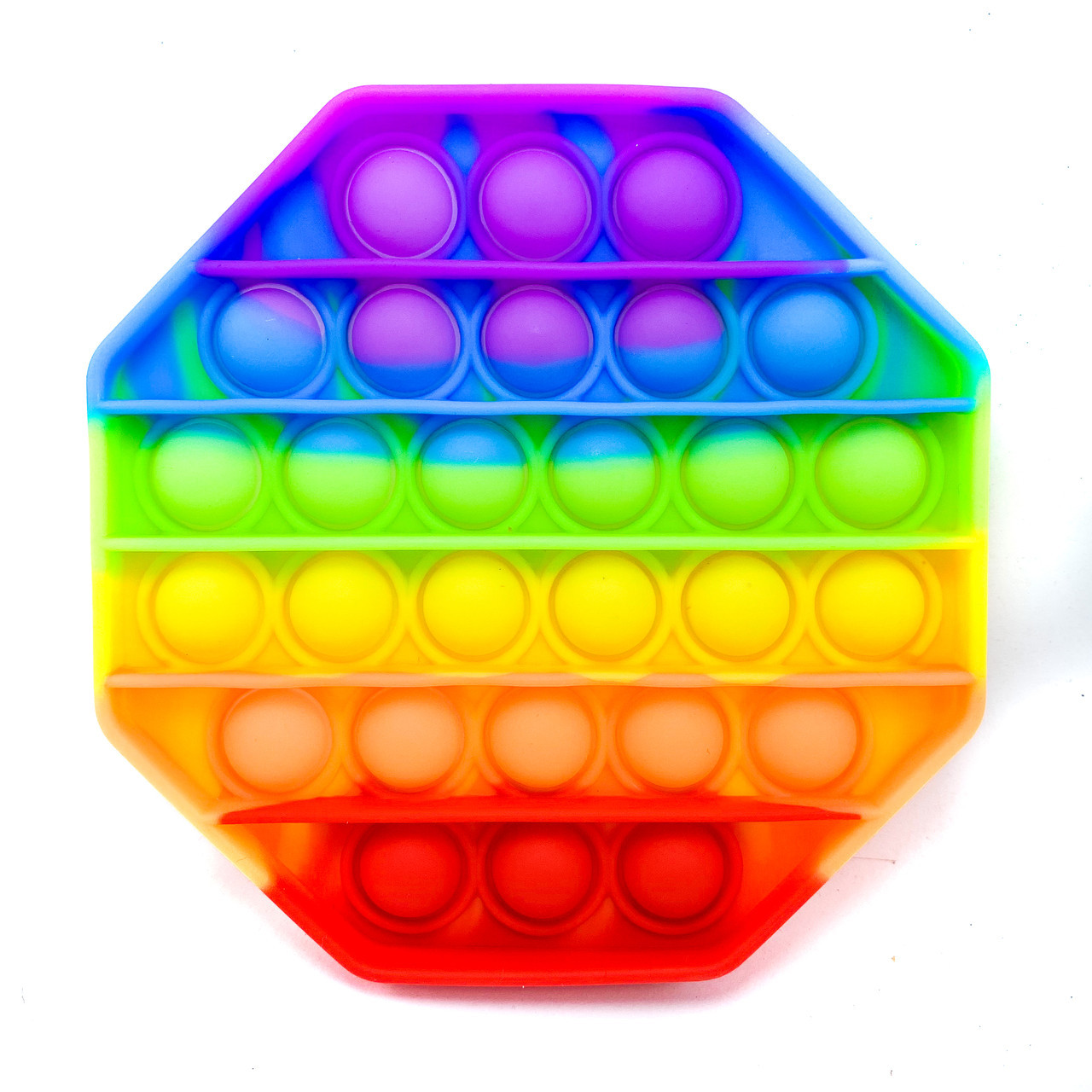 Сенсорная игрушка Антистресс Pop It Восьмигранник