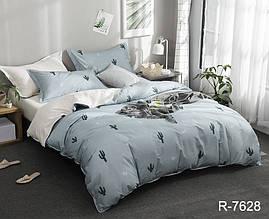 Двухспальный комплект постельного белья ранфорс  R7628