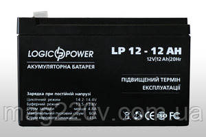 Аккумулятор  LogicPower AGM LPM 12 - 12 AH