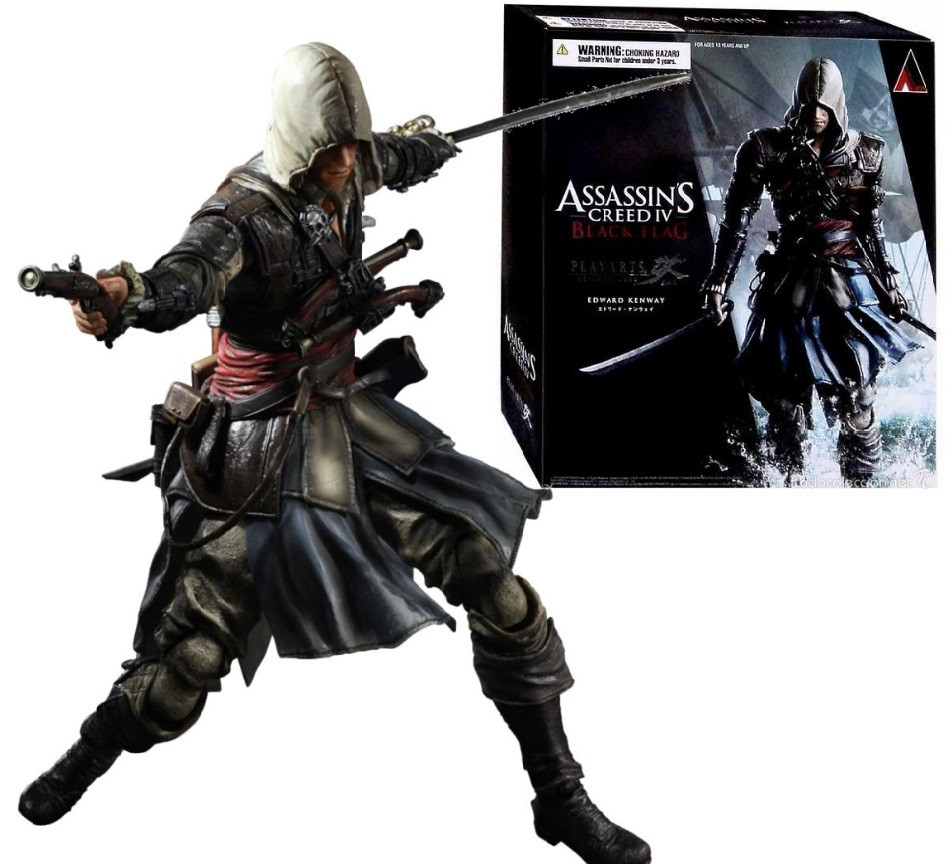 Коллекционная фигурка Эдвард Кенуэй 27 см - Assassin's Creed IV Black Flag Edward Kenway