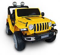 Електромобіль Just Drive GRAND-RS2 - жовтий