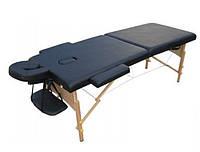 Двухсекционный деревянный складной стол PREMIERE ЧЕРНЫЙ (NEW TEC)