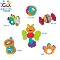 Набор погремушек для малышей Huile Toys, 6 шт
