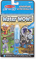 Melissa & Doug Волшебная водная многоразовая раскраска Reusable Water-Reveal Activity Pad – Adventure