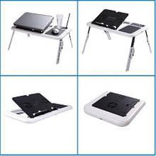 Складной столик-подставка для ноутбука с кулером