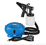 Професійний фарборозпилювач Paint Zoom, електричний краскопульт, розпилювач фарби, фото 8