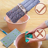 Швабра для быстрой уборки с отжимом Spin Mop 360 с микрофиброй, фото 2