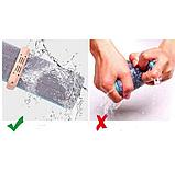 Швабра для быстрой уборки с отжимом Spin Mop 360 с микрофиброй, фото 4