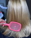 Гребінець для волосся Cecilia Super Hair (аналог Janeke Superbrash), фото 4