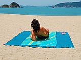 Пляжный коврик покрывало анти песок 200*150 см, фото 2