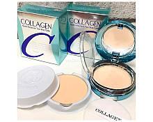 Увлажняющая пудра с коллагеном Enough Collagen Hydro Moisture Two Way Cake SPF25 PA++ ТОН 13