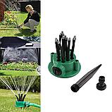 Система поливу Multifunctional sprinkler розпилювач для поливу газону на 360 градусів, фото 2