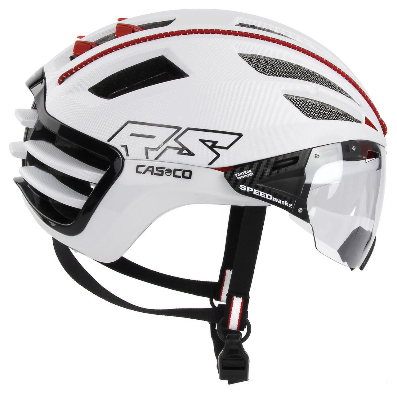 Велошлем Casco SPEEDairo 2 RS White incl.vautron visor