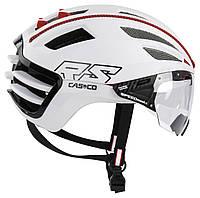 Велошлем Casco SPEEDairo 2 RS White incl.vautron visor, фото 1