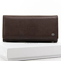 Женский кошелек из натуральной кожи Dr. Bond (W501 коричневый)
