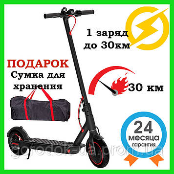 "Электросамокат Crosser E9 Premium pro 10"" Black черный"