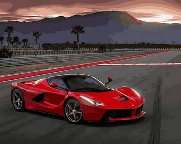 Картини за номерами 40×50 см Babylon Ferrari LaFerrari Spider (VP 1404)