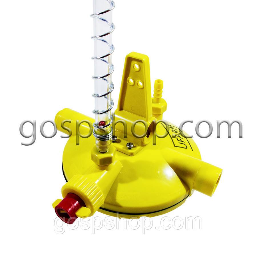 Регулятор тиску води аналог LUBING (з промиванням) кругле кріплення