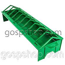 Кормушка лотковая пластиковая для птицы 50 см