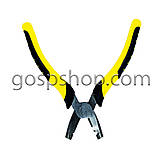 Плоскогубці скобообжимные (жовті), фото 2