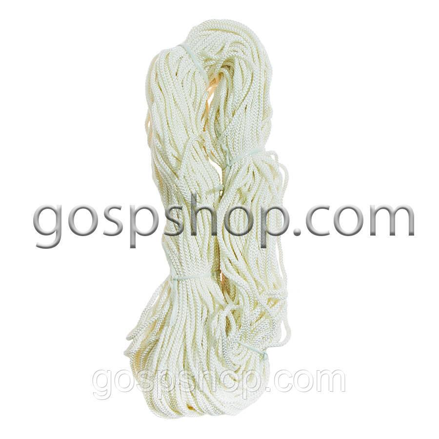 Трос капроновый, нейлоновый, полиамидный 4 мм