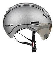 Велошолом Casco Roadster silver denim