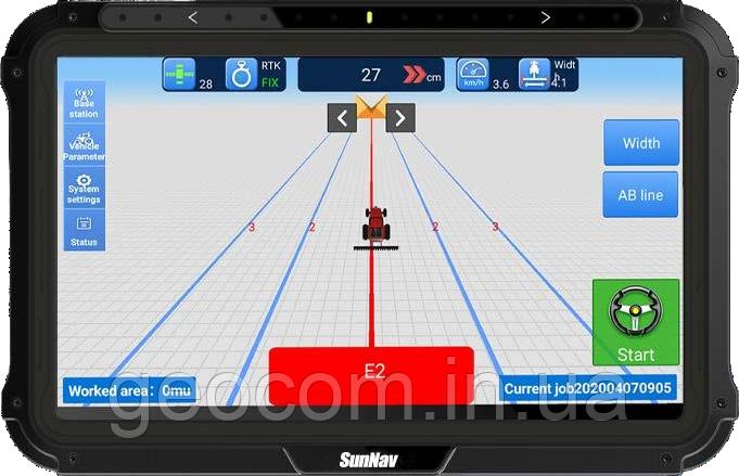 Курсоуказатель SunNav  AG300 с подруливающим устройством и двумя антеннами