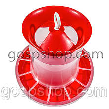Бункерная кормушка 8,3 л / 5,6 кг для кур несушек, бройлеров, уток, гусей, индюков, перепелов