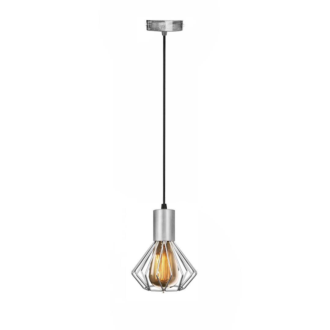 Світильник лофт MSK Electric Diadem підвісний хром NL 2215 CR