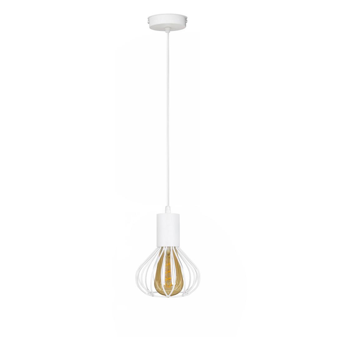 Светильник лофт подвесной MSK Electric Lotus NL 1415 WH